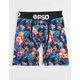 PSD x Sommer Ray Pineapple Blue Mens Boxer Briefs