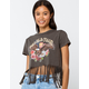 FULL TILT World Tour Fringe Womens Crop Tee