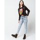 RSQ Acid Wash Womens Mom Jeans