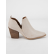 BEAST FASHION Chop Out Womens Booties
