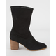 BEAST FASHION Ankle Slouch Womens Booties