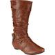 DE BLOSSOM Double Wrap Womens Boots