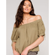 OTHERS FOLLOW Off The Shoulder Womens Top