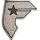 FAMOUS Stars & Straps Sparkle Belt Buckle