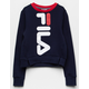 FILA Miss Mona Navy Girls Sweatshirt