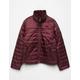THE NORTH FACE Reversible Mossbud Swirl Burgundy Girls Jacket