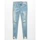 BLANKNYC Destructed Denim Girls Ripped Jeans