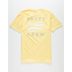 SALTY CREW Double Up Mens Black Banana T-Shirt
