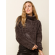 BLANK NYC Mica Womens Turtleneck Sweater