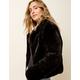 BLANK NYC Furry Womens Jacket