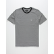 OBEY Apex Mens Black & White T-Shirt