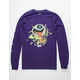 MADBALLS All Eyes On Me Mens Purple T-Shirt