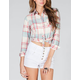 FULL TILT Plaid Womens Shirt