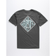 SALTY CREW Tippet Trio Mens Charcoal T-Shirt