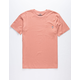 SALTY CREW Surplus Mens Coral Pocket Tee