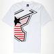 FAMOUS STARS & STRAPS Sidekicker Mens T-Shirt