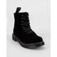 DR. MARTENS Junior 1460 Pascal Velvet Girls Boots