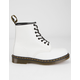 DR. MARTENS 1460 Unisex White Boots