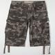 3RD & ARMY Taylor Camo Mens Cargo Shorts
