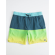BILLABONG 50Fifty Layback Mens Navy Volley Shorts