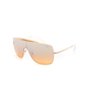 RAY-BAN Wings II Gold Orange/Silver Gradient Mirror Sunglasses
