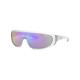 ARNETTE x Post Malone Clayface Transparent & Blue Mirror Sunglasses