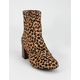 TOMS Emmy Womens Leopard Boots