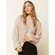 WEST OF MELROSE Ready to Roll Edge Womens Dolman Sweater