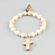 GOODWOOD NYC Cross Charm Bracelet
