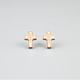 GOODWOOD NYC Cross Stud Earrings
