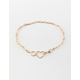 FULL TILT Heart Chain Gold Necklace