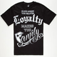FAMOUS STARS & STRAPS Loyalty Family Mens T-Shirt