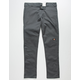 DICKIES Twill Double Knee Mens Charcoal Pants