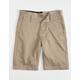VOLCOM Frickin Drifter Boys Khaki Shorts