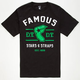 FAMOUS STARS & STRAPS State Raised Mens T-Shirt