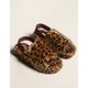 STEVE MADDEN Fuzz Womens Leopard Slippers