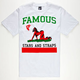 FAMOUS STARS & STRAPS Cali Chick Mens T-Shirt