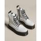 DR. MARTENS Jadon Womens White Platform Boots