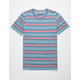 THE NARROWS Multi Stripe Mens T-Shirt