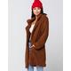 KAII Cozy Teddy Midi Womens Jacket