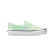 VANS Checkerboard Green & True White Womens Slip-On Shoes