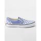 VANS Checkerboard Classic Slip-On Iris & True White Girls Shoes