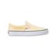 VANS Checkerboard Yellow & True White Womens Slip-On Shoes