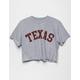 FULL TILT Texas Womens Crop Tee