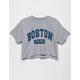 FULL TILT Boston Womens Crop Tee