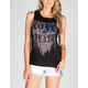 FULL TILT Open Twist Back Womens Tee