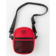 BUMBAG Compact Canvas Red Shoulder Bag