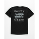 SALTY CREW Double Up Mens Black T-Shirt
