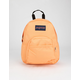 JANSPORT Half Pint Orange Mini Backpack