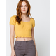 O'NEILL Daria Womens Gold Top